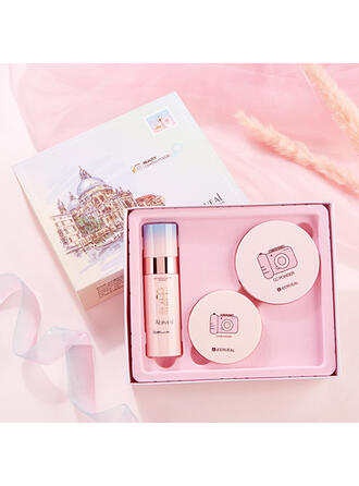 3 PCS Waterproof Brighten Oil control Light BB & CC Cream With Box