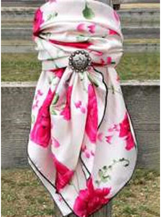 Rose/Print Light Weight/fashion/Breathable Scarf