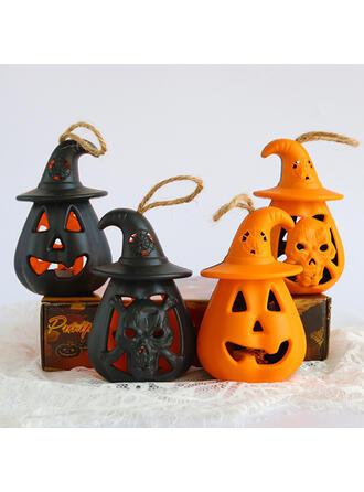 Przerażające Halloween Dynia żywica Rekwizyty na Halloween Dekoracje na Halloween ( Zestaw 4)