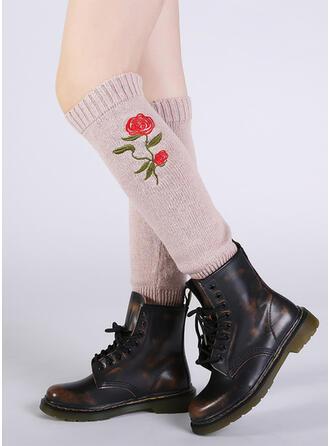 Róża/Nadruk Ciepły/Wygodny/Ogrzewacze nóg/Skarpetki do butów Skarpety