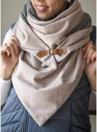 Solid Color Oversized/fashion/Comfortable Scarf