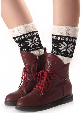 Nadruk Wygodny/Boże Narodzenie/Ogrzewacze nóg/Skarpetki do butów Skarpety