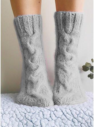 Solid Color Comfortable/Women's/Crew Socks Socks
