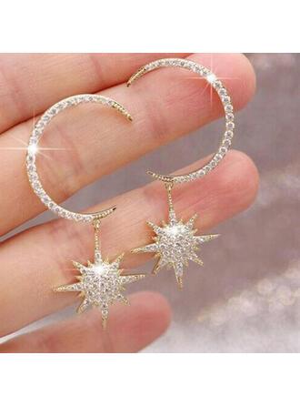 Charming Pretty Artistic Romantic Alloy With Rhinestone Women's Earrings
