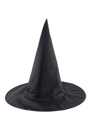 gotyk Halloween Czarownica Oxfordská tkanina Rekwizyty na Halloween Kapelusze czarownic