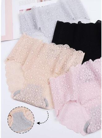 Koronka Tkanina mesh kolor Slipy Panty
