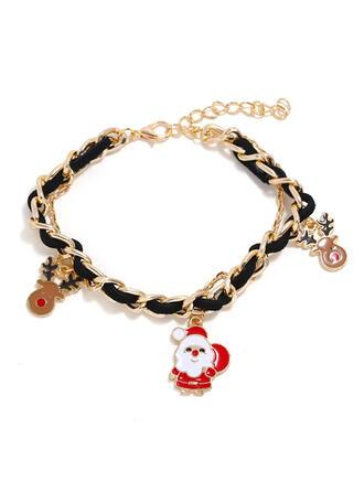 Renifer Boże Narodzenie Boże Narodzenie Christmas Santa Stop Bransoletki