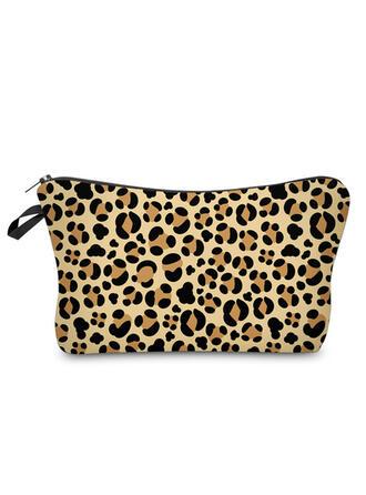 Leopard Makeup Bags