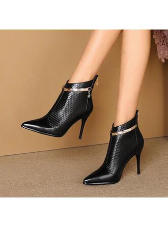 Dla kobiet PU Obcas Stiletto Czólenka Botki Obcasy Spiczasty palec u nogi Z Pozostałe obuwie