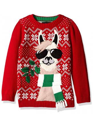 Unisex Poliester Nadruk Zwierzęcy Brzydki świąteczny sweter