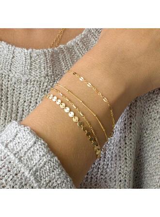 Alloy Bracelets Beach Jewelry (4 pieces)