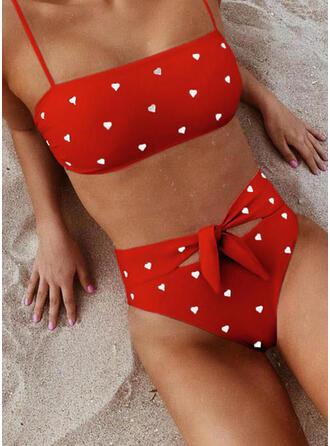 High Waist Knotted Strap Sexy Cute Amazing Bikinis Swimsuits