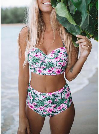 Pasek Dekolt w kształcie litery V Bikini Stroje kąpielowe