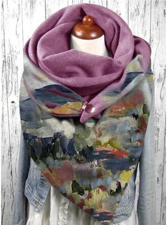 Retro/Vintage/Graphic Prints fashion/Colorful Scarf