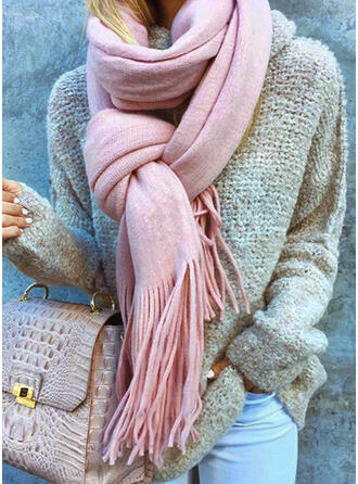 Solid Color/Tassel fashion/Multi-functional/Skin-Friendly/Simple Style Scarf