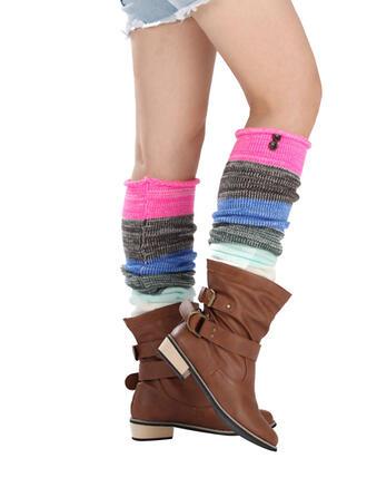 Kolorowy/szydełka Wygodny/Ogrzewacze nóg/Skarpetki do butów Skarpety