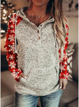 Wydrukować Długie rękawy Świąteczna bluza
