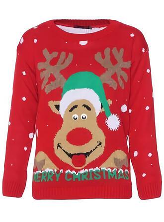 Unisex Poliester Renifer Brzydki świąteczny sweter