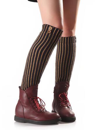 paski/retro / vintage Oddychająca/Wygodny/Ogrzewacze nóg/Skarpetki do butów Skarpety