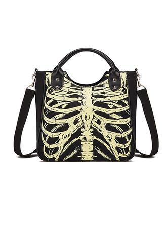 Atrakcyjny/Halloween/Przerażające/Szkielet/Świetlny Torby na ramię/Torby Crossbody