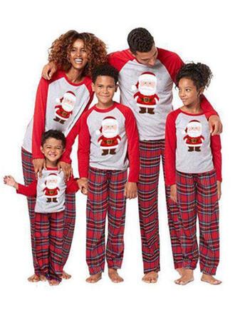 Święty Mikołaj Kratę Rodzinne Dopasowanie Świąteczne piżamy