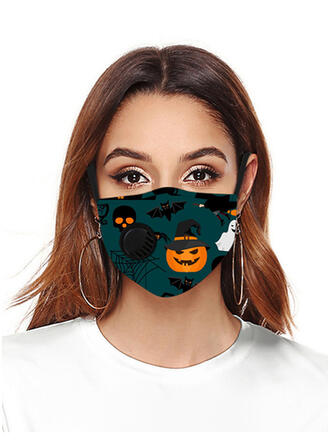 Oddychająca/Ochronny/Wygodny/Wielokrotnego użytku/Halloween/Dynia/Przyjazny Dla Skóry/Zmywalny Maski na twarz