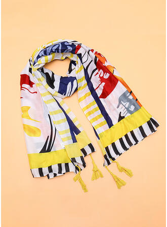 Striped Reusable/Women's/Simple Style Scarf