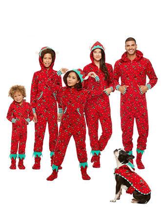 Rodzinne Dopasowanie Świąteczne piżamy Piżama